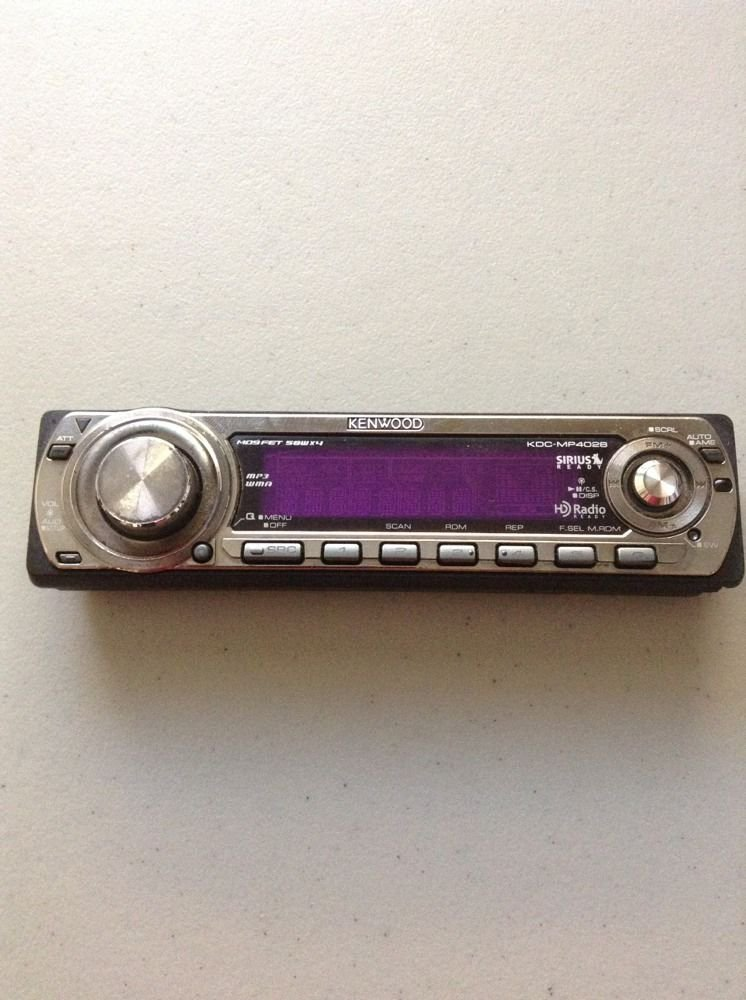 KENWOOD KDC-MP4028 Replacement Faceplate