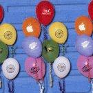 "1,000 9"" latex balloons"