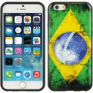 "APPLE IPHONE 6(4.7"") TPU IMD CASE PHOONE COVER FLAG BRAZIL-SHOCKPROOF USA"