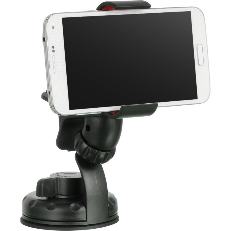 UNIVERSAL CLIP-ON STYLE CAR HOLDER MOUNT WINDSHIELD/DASHBOARD FOR GPS/CELLPHONES