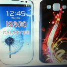 Samsung Galaxy S 3 S3 S III SIII i9300 Case Cover Fire Work Design Gummy CaseHot