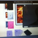 Apple iPad 2 Ipad3 Ipad4 S Wave TPU Gel Case Great Flexibility CLEAR
