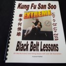 Extreme Black Belt Techniques Lesson Book