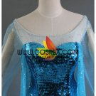 Cosrea Frozen Elsa Sequin Beaded Glitter Cosplay Costume