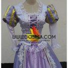 Cosrea Rapunzel Light Purple Floral Lace Cosplay Costume