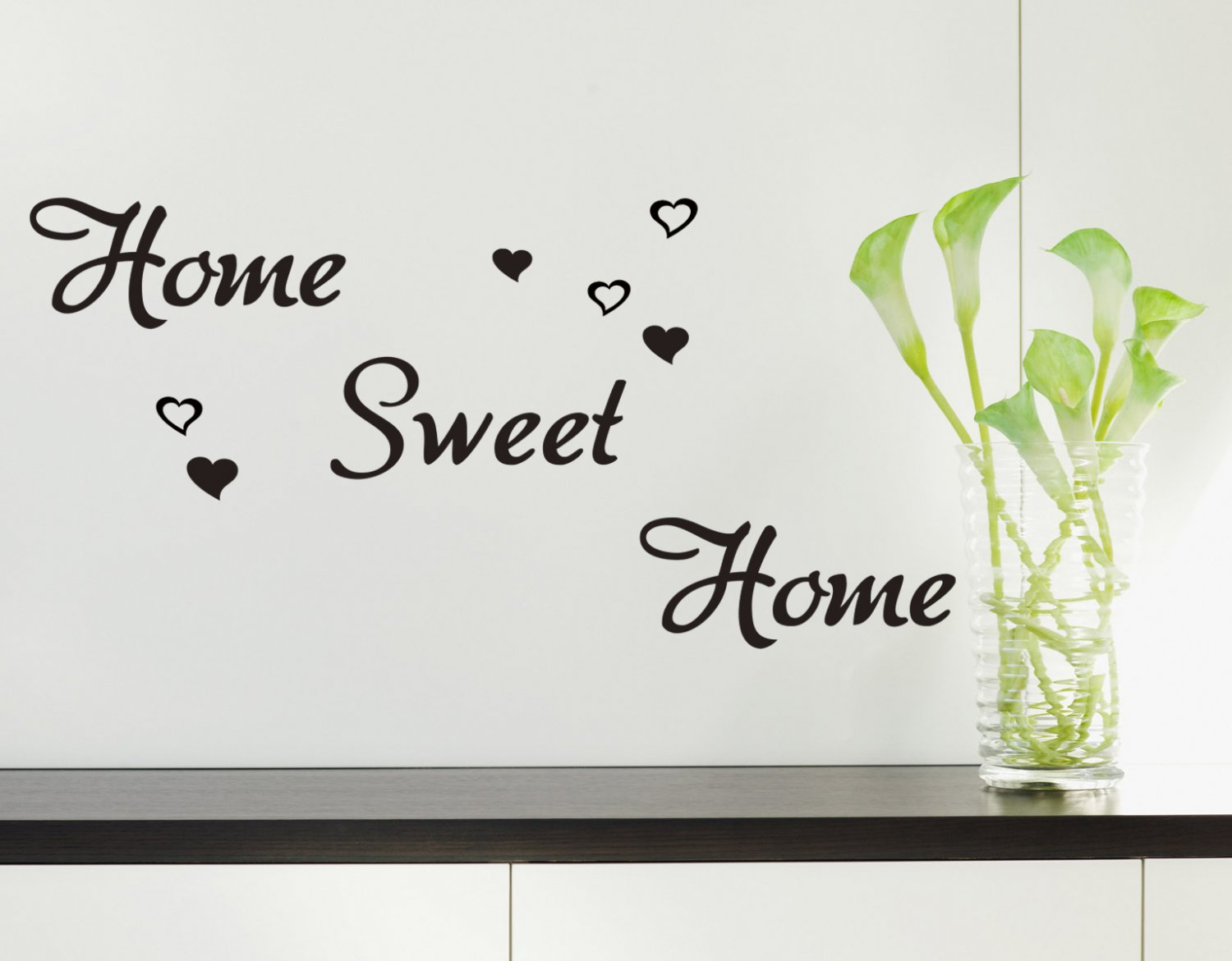 Home Sweet Home Wall ART Quote Vinyl wall sticker