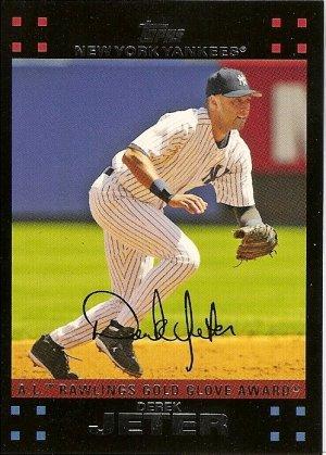2007 Topps Jeter Series 1 #301