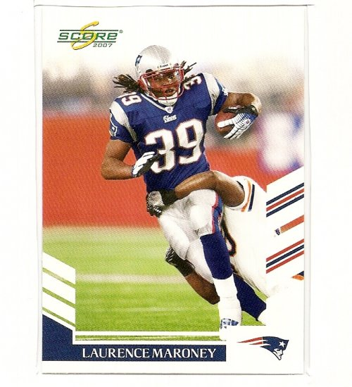 2007 Score Football,Maroney #156