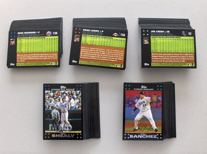 2007 Topps Series 1 Lot of 25 Complete Your Set !