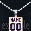 BEARS CUSTOM PERSONALIZED JERSEY Team Mascot Pendant Choices