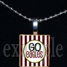 GO NICEVILLE HIGH SCHOOL EAGLES School Team Mascot Pendant Necklace Charm or Keychain