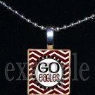 GO NICEVILLE HIGH SCHOOL EAGLES School Team Mascot Pendant Necklace Charm or Keychain