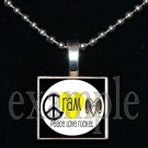 PEACE LOVE RAMS RUCKEL RAMS Team Mascot Pendant or Keychain