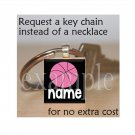 PERSONALIZED BASKETBALL Scrabble Key-chain