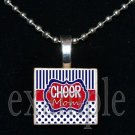 Cheer MOM Scrabble Necklace Pendant Charm or Key-chain