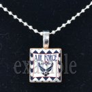 AIR FORCE WIFE »-(¯`v´¯)-» MILITARY Scrabble Tile Pendant Necklace Charm or Keychain