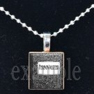 Personalized TEACHER Name on Composition Book Necklace Charm Scrabble Tile Pendant OR Keychain!