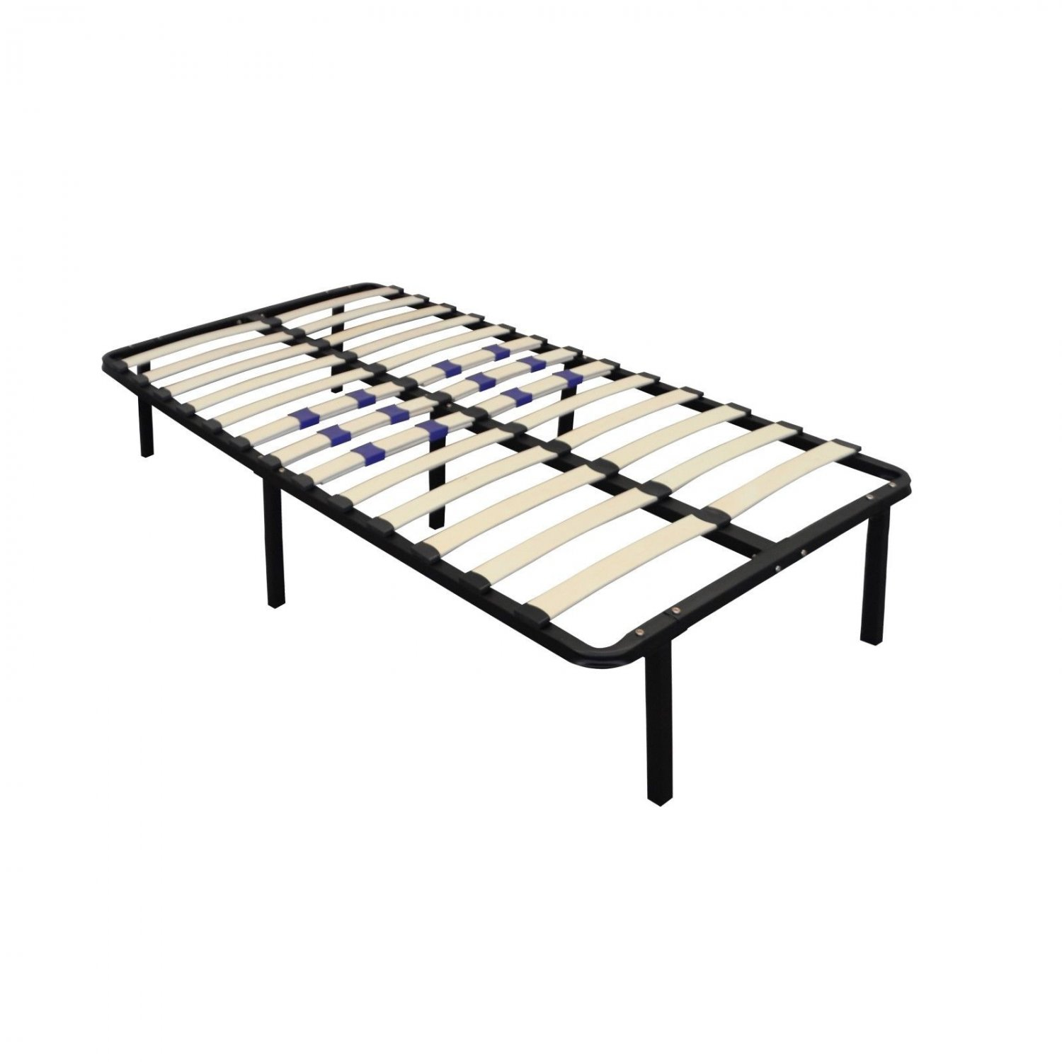 """Bed frame Twin 14"""" Euro Base-No Need for Box spring or Traditional Metal Frame"""