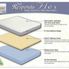 NEW Twin Extra Long 8'' Medium Firm Memory Foam Mattress! Responda Flex 5082