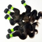 Virgin Brazilian Human Hair Extensions 6A Body Wave 22' inch 3 Pack Bundle