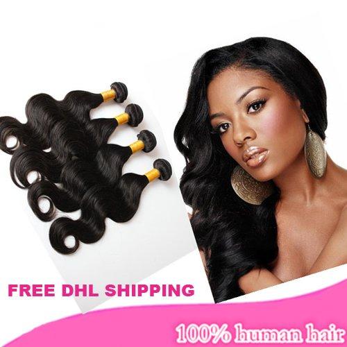 12/14/16'' 100% unprocessed brazilian virgin body wave hair extensions