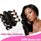 12/14/16'' 100% unprocessed brazilian virgin body wave hair extensions