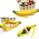 Silicone Banana Women Coin Bag Pencil Case Box Makeup Free Shipping World wide