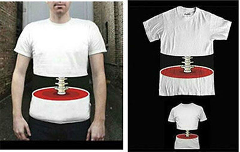 New 3D effect bone Print short sleeve Novelty Korean leisure Men T-shirt Ships Free Worldwide