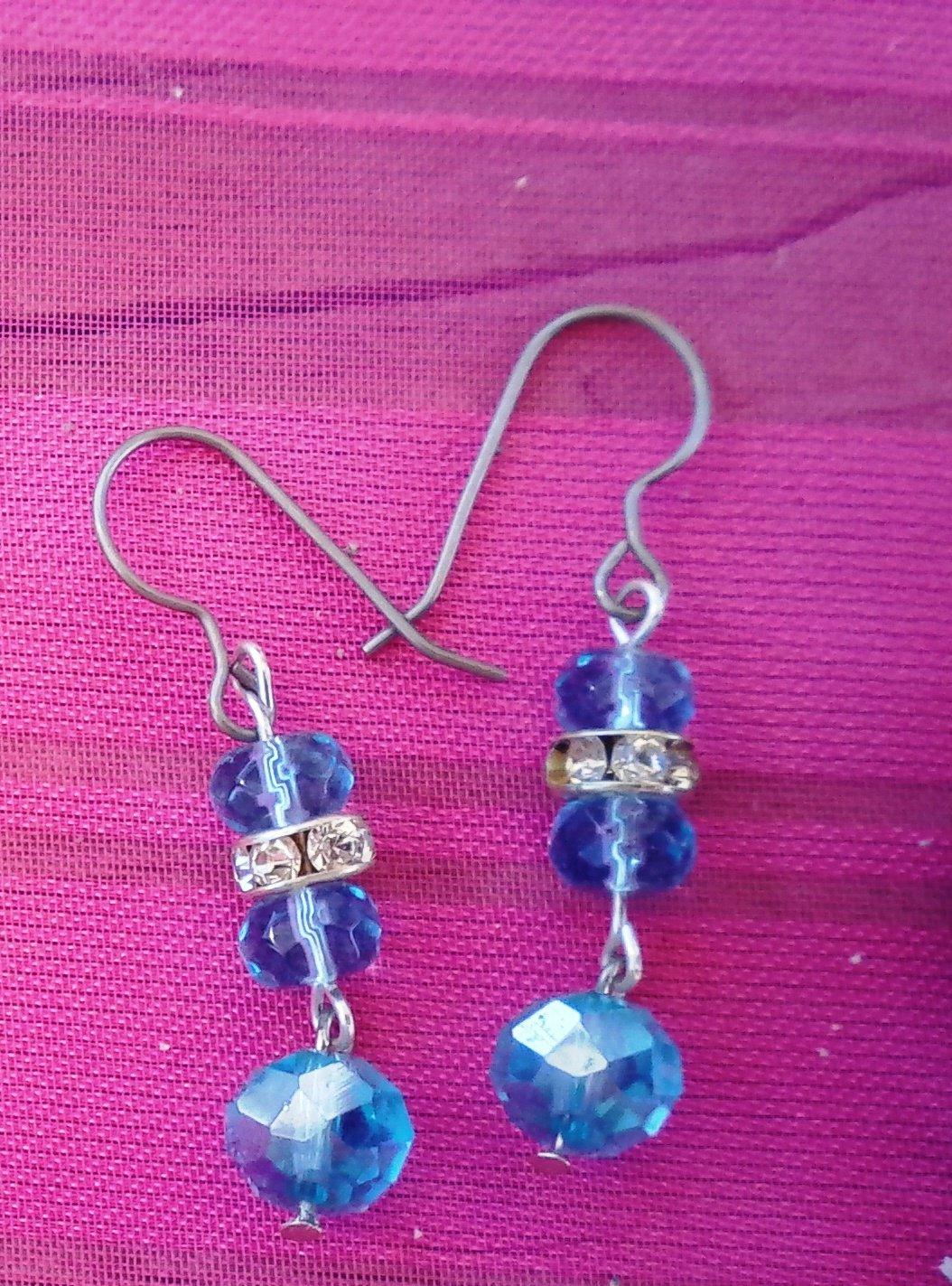 Summer Blues Earrings