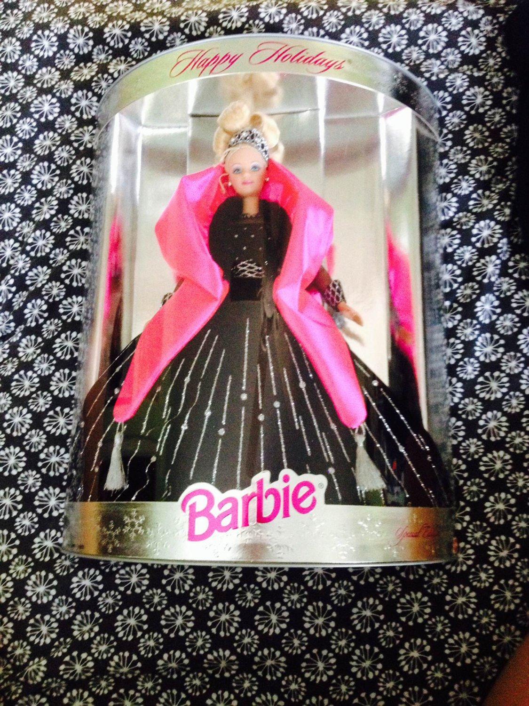 Happy Holidays Barbie 1998 Edition