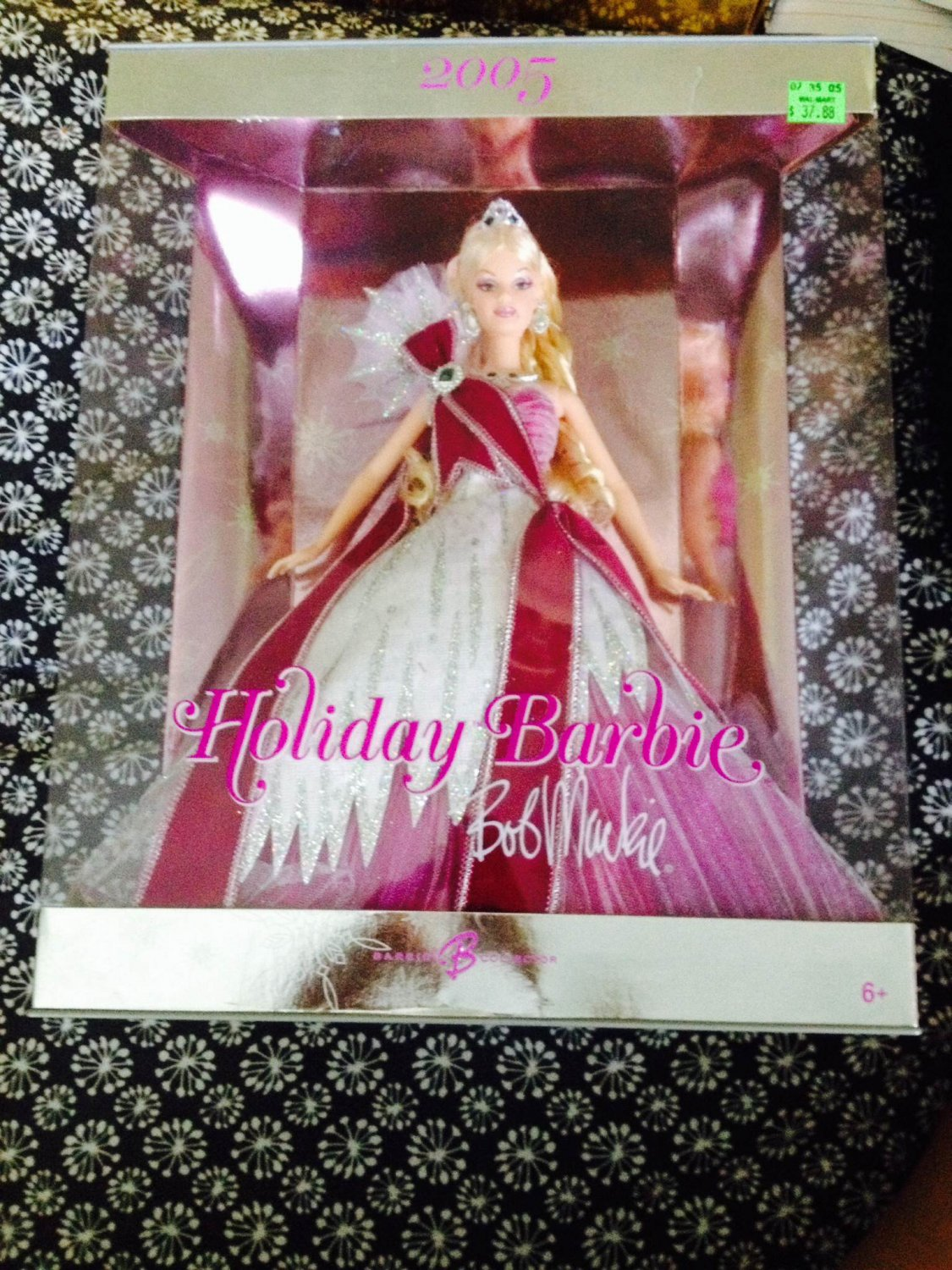 Holiday Barbie Bob Mackie 2005 Edition