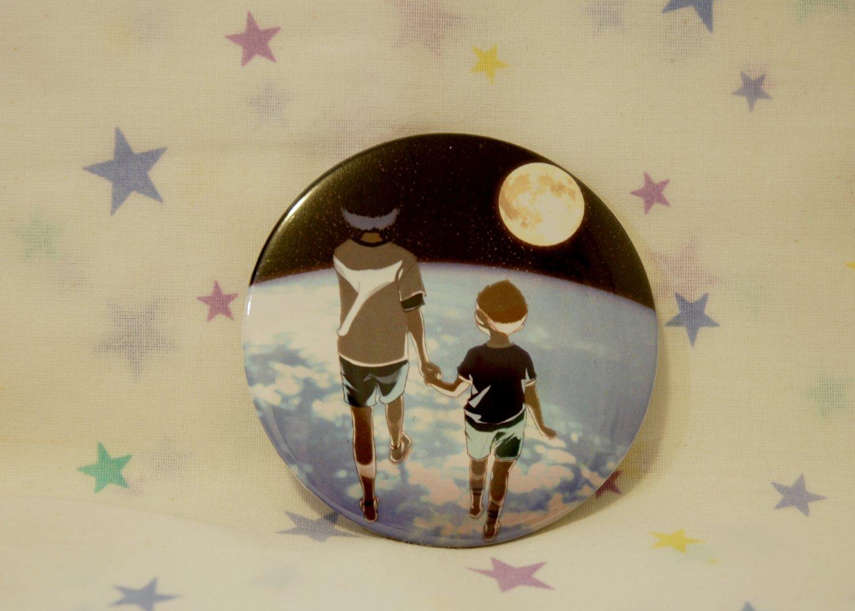 Tin Button (SpaceBros)