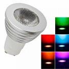 GU10 5W 100 Lumen LED Remote Control Light Spotlight Bulb (85V-265V)
