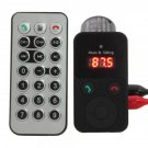 Wireless Bluetooth Car Kit FM Transmitter Modulator MP3 Player USB/SD Remote