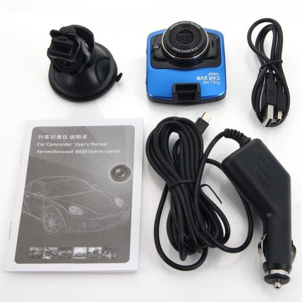 "T208 2.4"" LTPS 1080P 30fps Car Camera Video Recorder (Novatek 96650 Processor)"