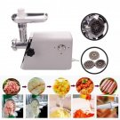 New Convenient 1300W Industrial Electric Meat Grinder Electric US Stock Steel