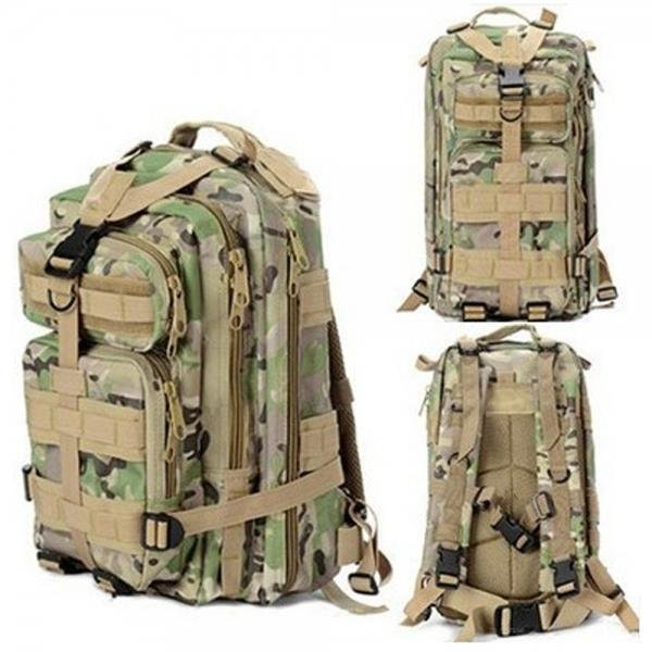 3P Outdoor Sport Camping Hiking Trekking Bag Military Tactical Rucksack Backpack