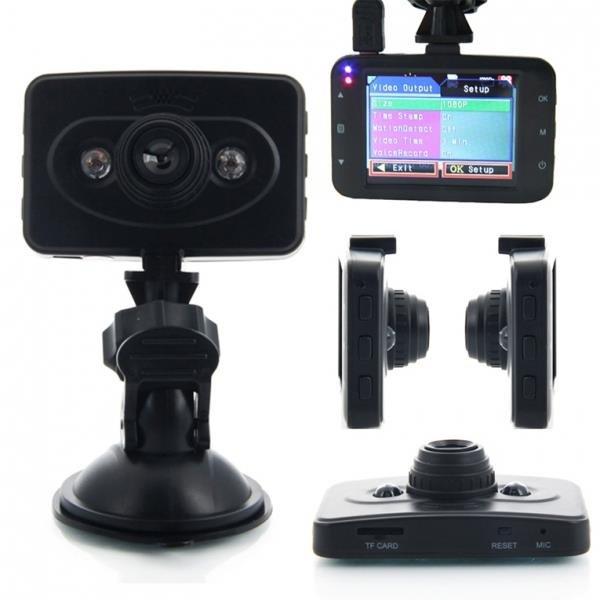 "2.4"" FHD 100° A+ Ultra Wide Angle Lens Vehicle Car DVR Recorder (Ingenco) Black"