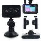 "2.4"" FHD 100° A+ Ultra Wide Angle Lens Vehicle Car DVR Recorder (Ingenco) Black"