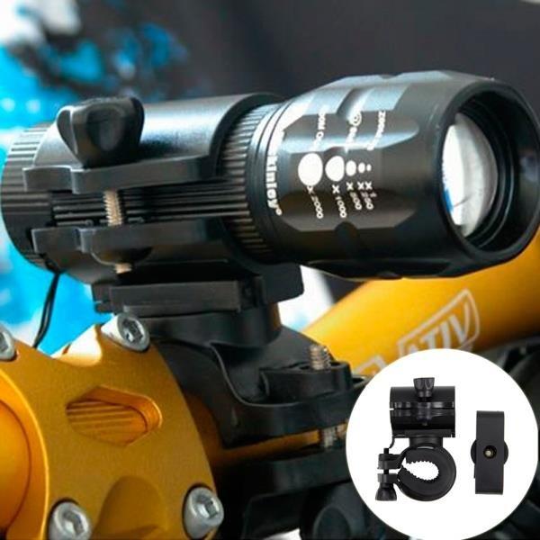 360 Degree Rotatable Multifunctional Bike Headlight Holder