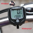Wireless Bike Computer LED Odometer Speedometer Waterproof Black