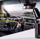 Car Bluetooth V2.1 + EDR Transmitter with FM & Hands-free & Dual USB Charger