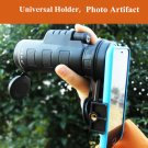 10*40 Hiking Concert Optical Camera Lens Monocular Cellphone Telescope