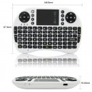 UKB-500-RF Multi-functional 2.4G Wireless Mini Air Mouse Keyboard White + Black