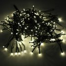 200-LED Warm White Light Outdoor Waterproof Chrisas Decoration Solar