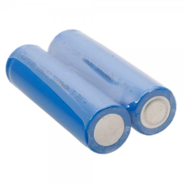 Neutral 18650 3.7V-4.2V 5000mAh Rechargeable Lithium Battery Deep Blue