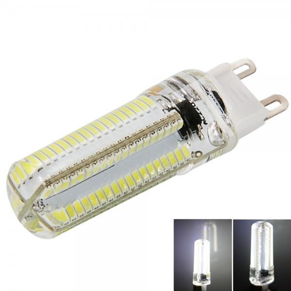 G9 7W 152-LED 3014 SMD 6000-6500K White Light Adjustable Gel Corn Light For US