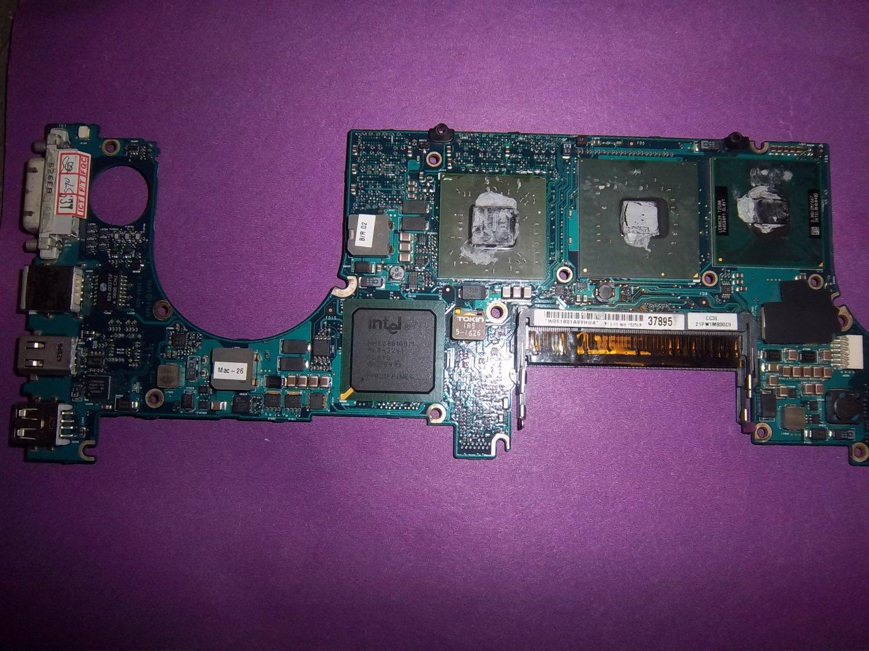 "Macbook Pro 15"" A1150 2.0Ghz T2500 128MB Logic 820-1881-A WORKING"