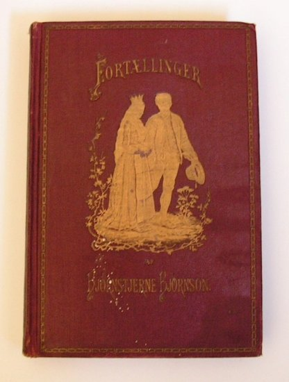 Fortaellinger by Bjornstjerne Bjornson - 1922 Vintage Norwegian Book - Folk Tales of Norway