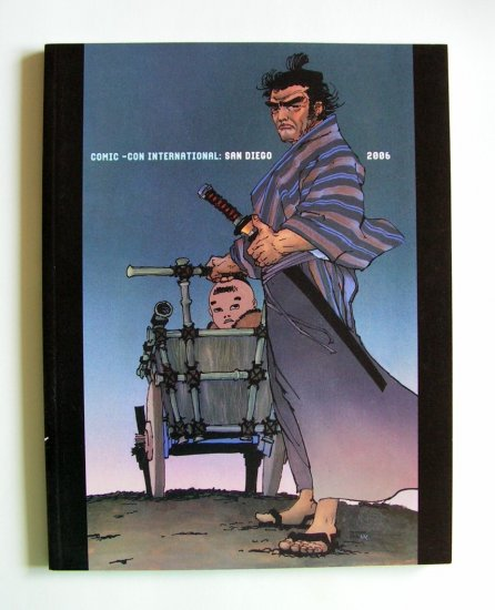 LONE WOLF & CUB - 2006 Comic Con Souvenir Book